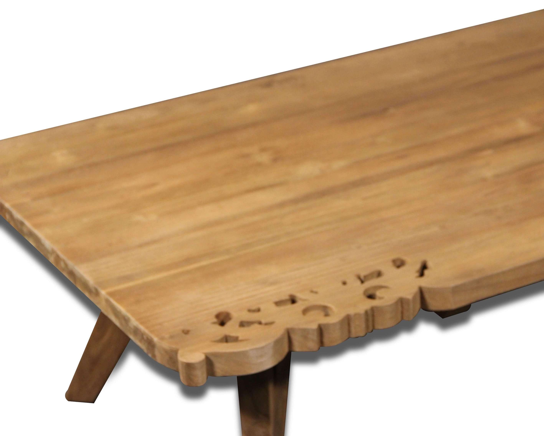 Esstisch Und Sechs Stühle In Teak Holz Exotischen Stil