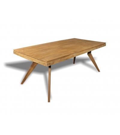 """Table à manger """"Samui"""" en bois de teck recyclé massif, 200 cm"""