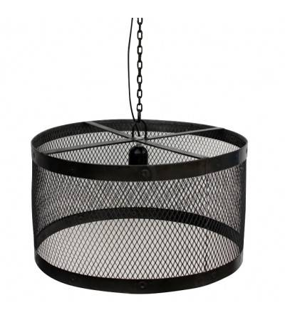 "Suspension industrielle ""Birdy"" style vintage en métal Antique"
