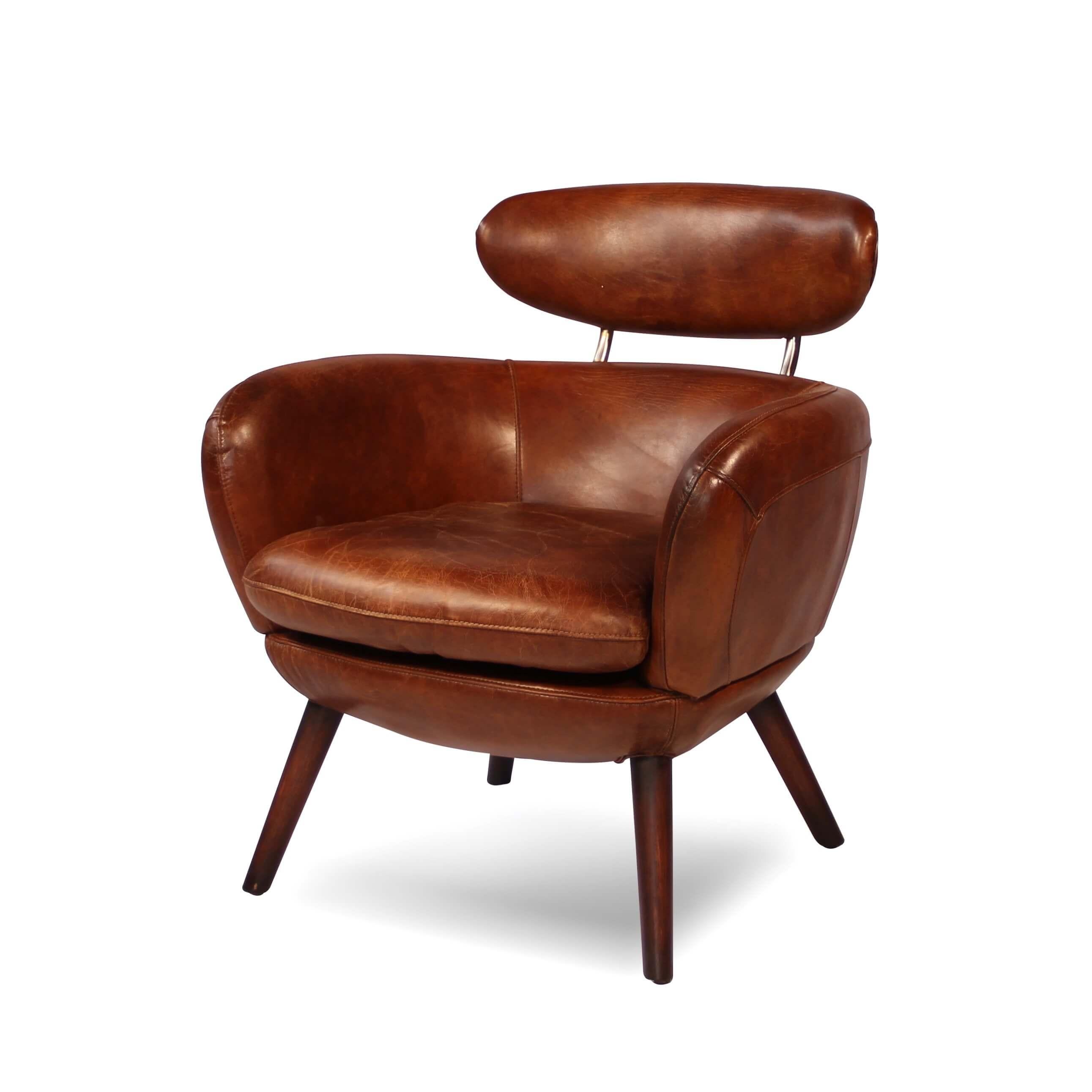 3 sitzer sofagarnitur und 2 braune ledersessel im englischen clubstil. Black Bedroom Furniture Sets. Home Design Ideas