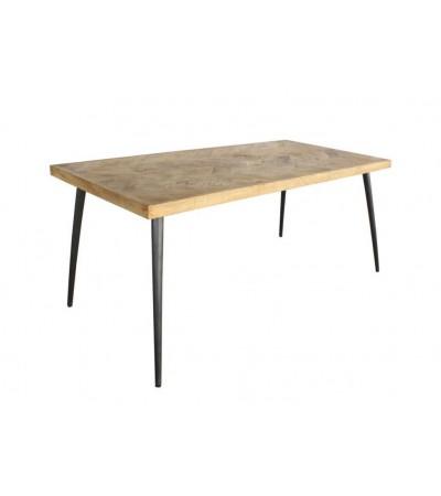 """Table à manger """"Udaïpur"""" bois massif style vintage, 180 cm"""