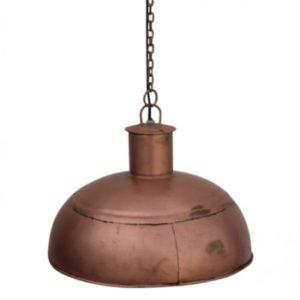 luminaire suspendu style industriel