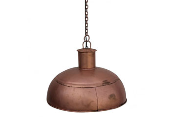 Luminaire suspendustyle industriel