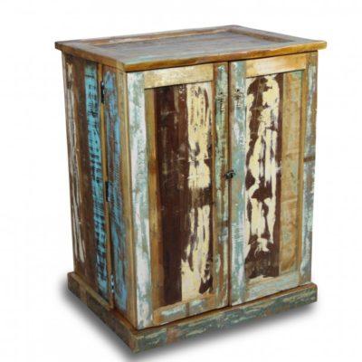 meuble de rangement style industriel vintage