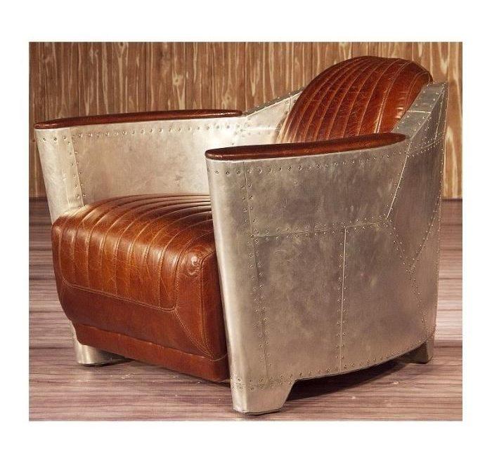 fauteuil-aviateur-cuir-marron-vintage