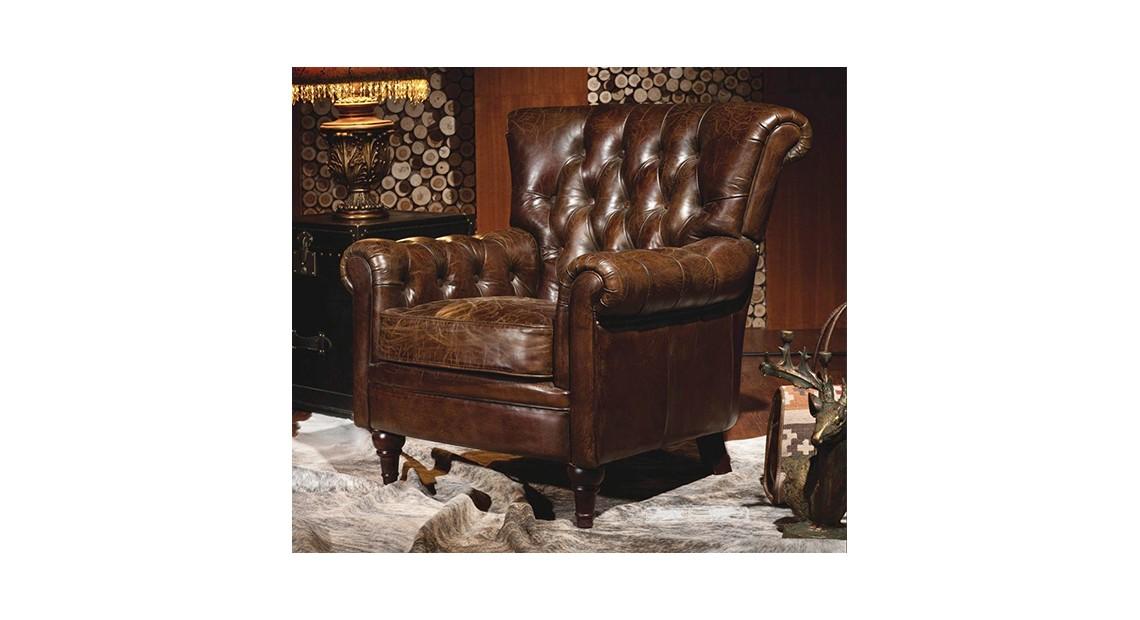 Le Fauteuil Club - Stanfield | Vente de mobilier cuir et Industriel
